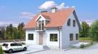 Проект уютного одноэтажного жилого дома