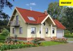 Проект одноэтажного дома с мансардой  - Муратор ЭЦ118б